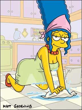 Картинки Мардж Симпсон